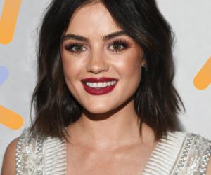 brunette, makeup, and short hair image