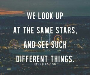 quote, stars, and different image