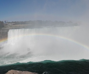 niagara and rainbow image