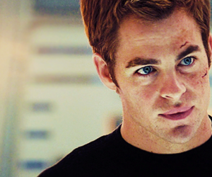 actor, captain kirk, and chris pine image