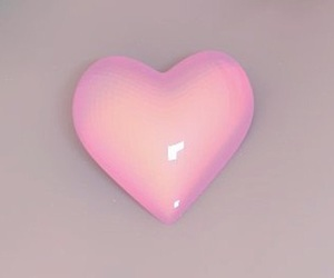 heart, cute, and hologram image