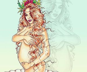 beyonce art, instagram, and mrs carter image