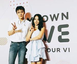 exo, sehun, and boa image