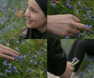 flower, Iman, and sana image
