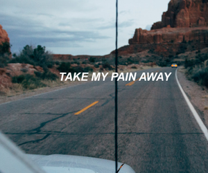 alone, Lyrics, and lockscreen image