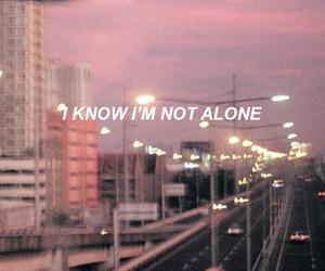 wallpaper, alone, and Lyrics image