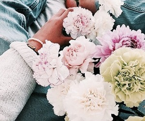 flowers, spring, and theme image