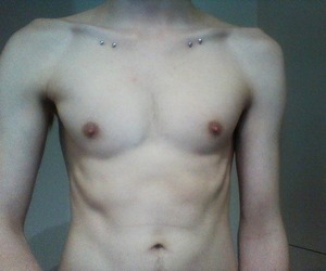 body, pale, and piercing image
