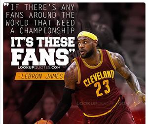 Basketball and LeBron James image