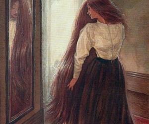 beauty, art, and girl image