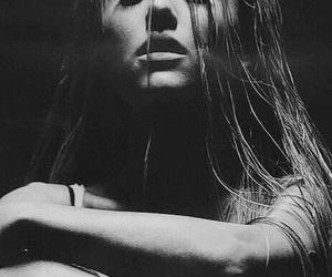 ariana grande, ariana, and black and white image