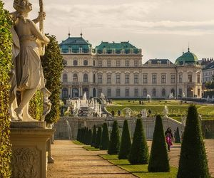 castle, palace, and vienna image