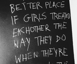 quote, girls, and tumblr image