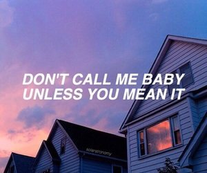 baby, sad, and love image