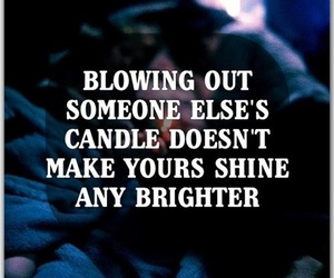 candle, quote, and life image