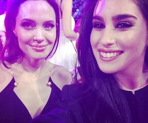 selfie, lauren jauregui, and Angelina Jolie image