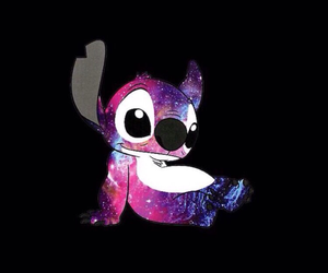 relax, stich, and galaxia (galaxy) image