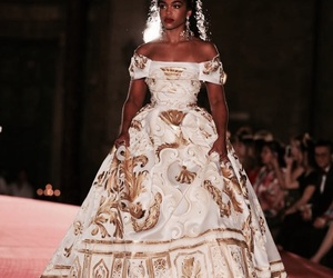 beauty, haute couture, and dg image