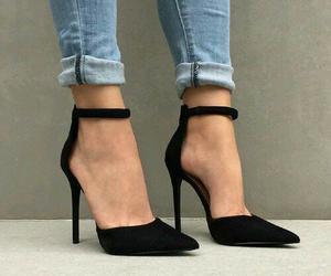 black, jeans, and denim image