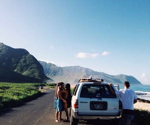summer, travel, and car image