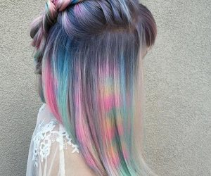 color and hairstyle image