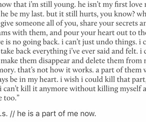 heartbreak, him, and love quotes image