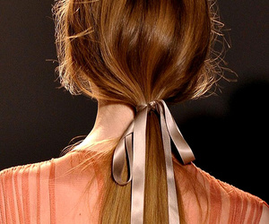 fashion, hair, and bow image