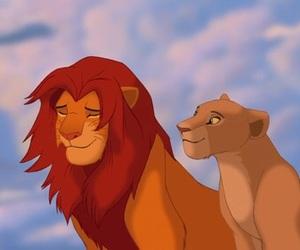 disney, the lion king, and simba image