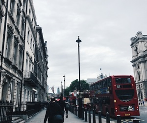 architecture, bus, and london image