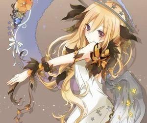 anime girl blond image