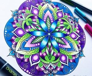 belleza, colores, and ilustracion image