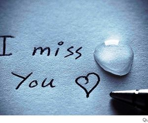 love, miss, and i miss you image