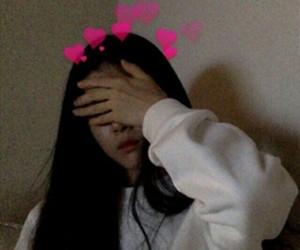 girl, grunge, and korean image