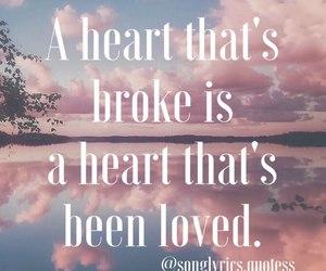 heart, lyric, and music image