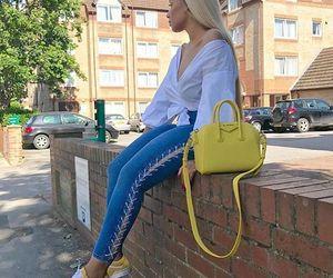 vans, yellow, and sherlinanym image