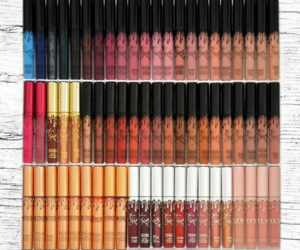 maquillaje, labiales, and kylie jenner image
