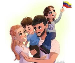 familia, venezuela, and leopoldo image