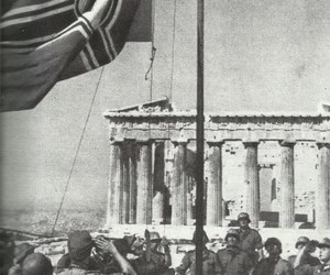 Athens, Greece, and world war ii image