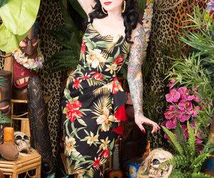 1950s, etsy, and hawaiian image