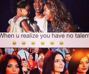 funny, beyoncé, and kim kardashian image