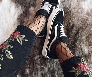fashion, vans, and shoes image