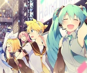 vocaloid, kaito, and hatsune miku image