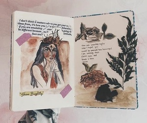 art, art journal, and artsy image