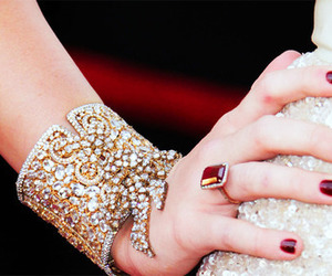 miley cyrus, bracelet, and ring image