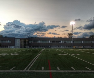 color, field, and football image