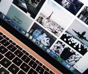 artsy, macbook, and travel image