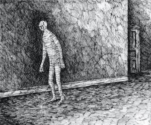 edward gorey, mummy, and the west wing image