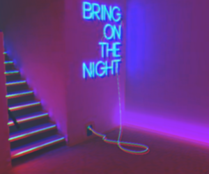 leds, neon lights, and bring me on the night image