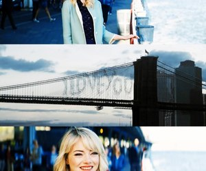 gwen stacy, the amazing spiderman 2, and emma stone image