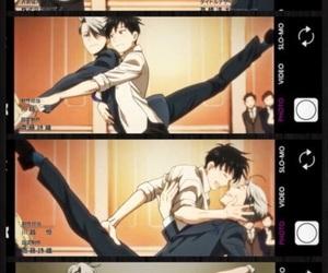 yuri!!! on ice, anime, and victuuri image